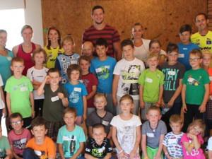 Lukáš Krpálek navštívil tábor Elitavers akademy. Zúčastnilo se ho dvě stě dětí