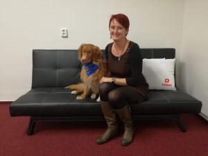Scoty pomáhá pacientům jak fyzicky, tak psychicky, říká o svém pejskovi oceněná Petra Humlerová