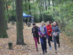FOTO: Žáci jihlavských škol si na Heulose vyzkoušeli branný běh. Na jaře již s účastí veřejnosti