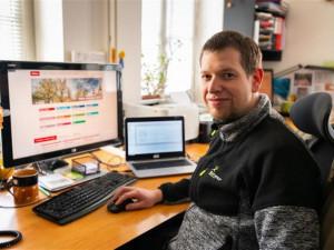 Petr Rous, správce systému odboru informatiky
