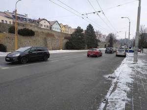 Rozšíření Hradební ulice uzavře vjezd do jihlavského City Parku