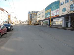 Jihlava plánuje třetí dopravní terminál, bude mezi Chlumovou ulicí a finančním úřadem