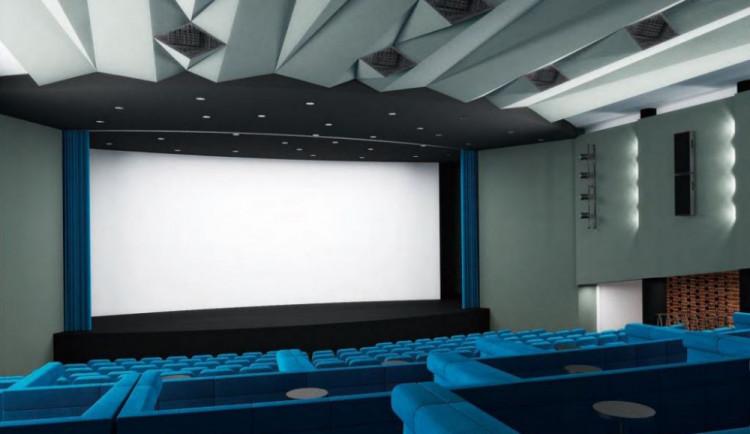 Žďárské kino Vysočina bude mít na podzim nové plátno a lepší zvuk