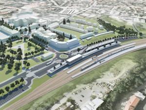 Budoucí podoba Centrálního dopravního terminálu