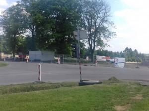U ústředního hřbitova se zase pracuje. Řidiči nové P+R parkoviště využijí v říjnu