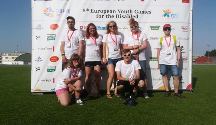Handicapovaní plavci z jihlavského klubu Vodomílek si z mezinárodních závodů přivezli pět medailí