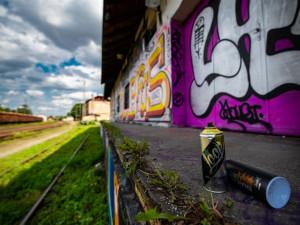 Jihlava připravila sprejerům dvě místa, kde mohou legálně tvořit graffiti