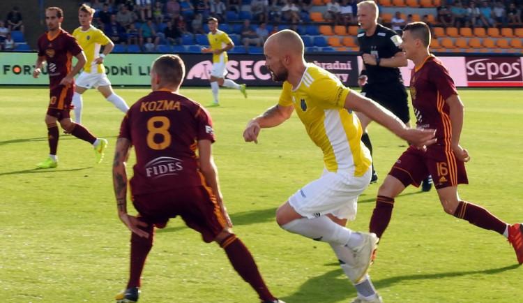 Vysočina ovládla šlágr kola, pražskou Duklu zdolala gólem Klobásy 1:0