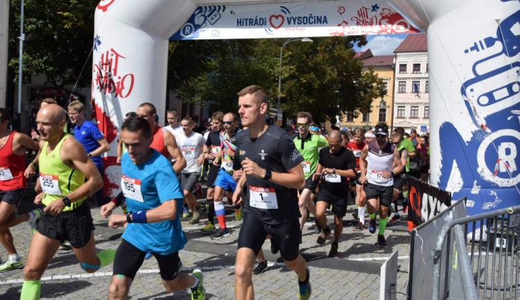 Jihlavský půlmaraton ovládl Jakub Exner, mezi ženami byla nejrychlejší Olga Krčálová