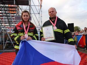 Hasiči z Vysočiny sbírali medaile na mezinárodních závodech v Bělorusku