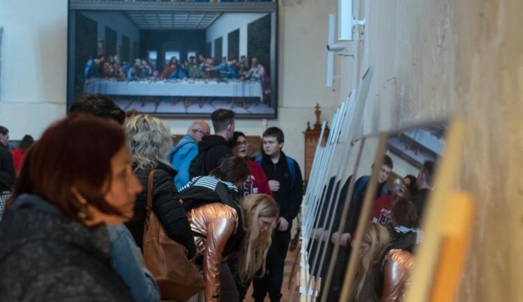 V Jihlavě je k vidění rekonstrukce slavného obrazu Poslední večeře. Pouze do konce října