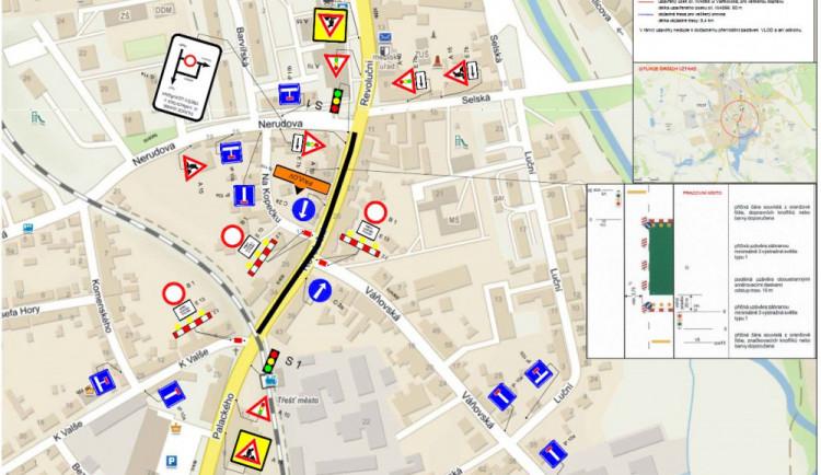DOPRAVNÍ INFO: Pokládání asfaltu omezí provoz v Revoluční ulici v Třešti