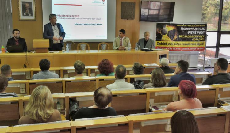 Zastupitelé Pelhřimova nesouhlasí s vybudováním úložiště jaderného odpadu