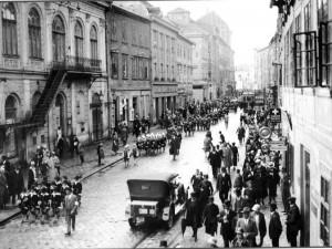V dnešní Komenského ulici