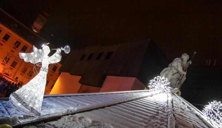 Rozsvícení vánočního stromečku v Jihlavě