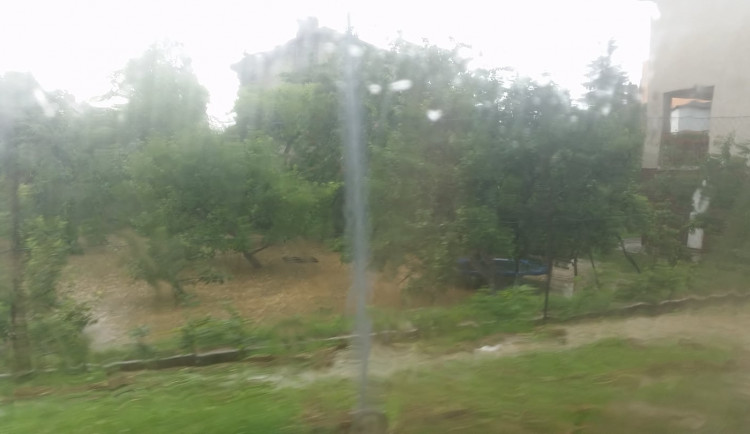 Silný déšť na Vysočině, 10. června 2018