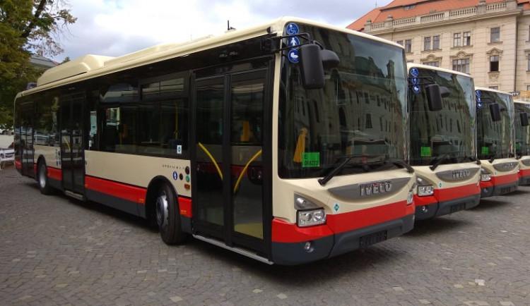 Nové autobusy jihlavské MHD