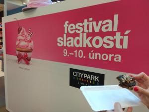 Festival sladkostí v City Parku