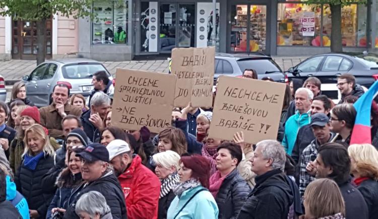 Protest na podporu nezávislosti justice