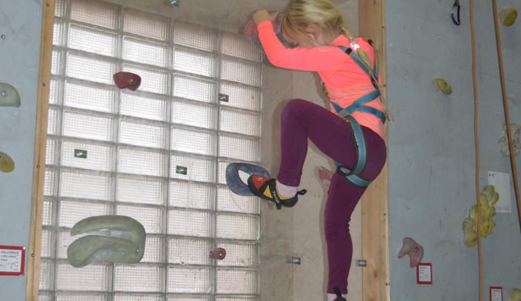 Dětské lezecké závody