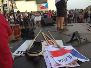 Jihlavský protest za nezávislost justice počtvrté
