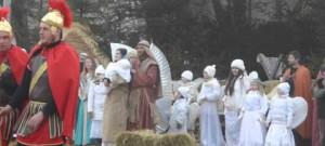 Živý betlém v Měříně - závěrečná píseň